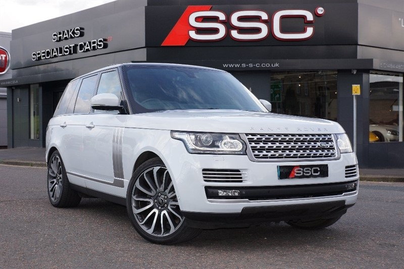 used Land Rover Range Rover TD V6 Autobiography 4x4 5dr (start/stop) in yorkshire