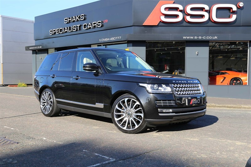 used Land Rover Range Rover TD V6 Vogue SE Auto 4WD (s/s) 5dr in huddersfield-west-yorkshire