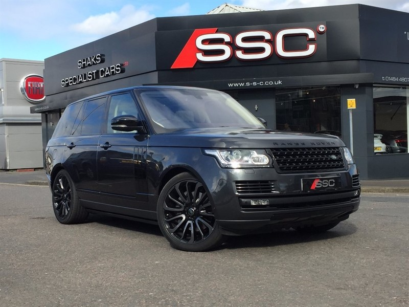 used Land Rover Range Rover SD V8 Autobiography Station Wagon 4x4 5dr (start/stop) in yorkshire
