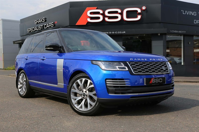 used Land Rover Range Rover SD V8 Autobiography Auto 4WD (s/s) in huddersfield-west-yorkshire