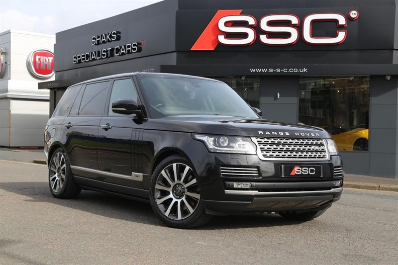 used Land Rover Range Rover SD V8 Autobiography LWB SUV 4X4 5dr in huddersfield-west-yorkshire