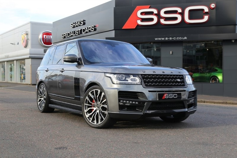 used Land Rover Range Rover SD V8 Vogue 4X4 (s/s) 5dr in huddersfield-west-yorkshire