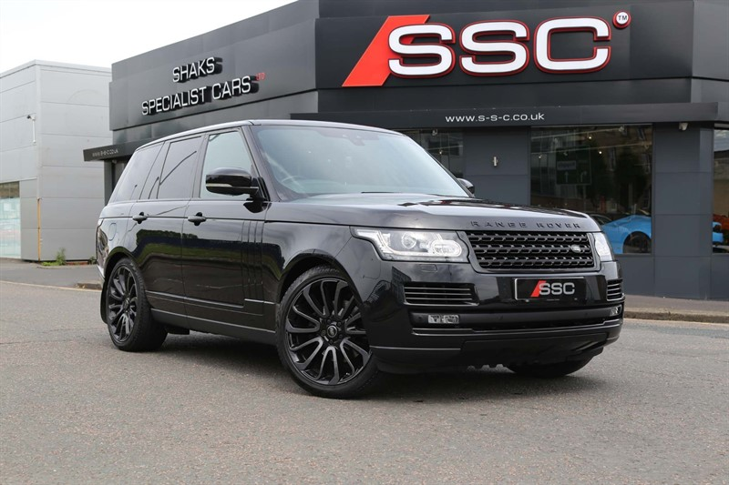 used Land Rover Range Rover V6 Vogue 4X4 (s/s) in huddersfield-west-yorkshire
