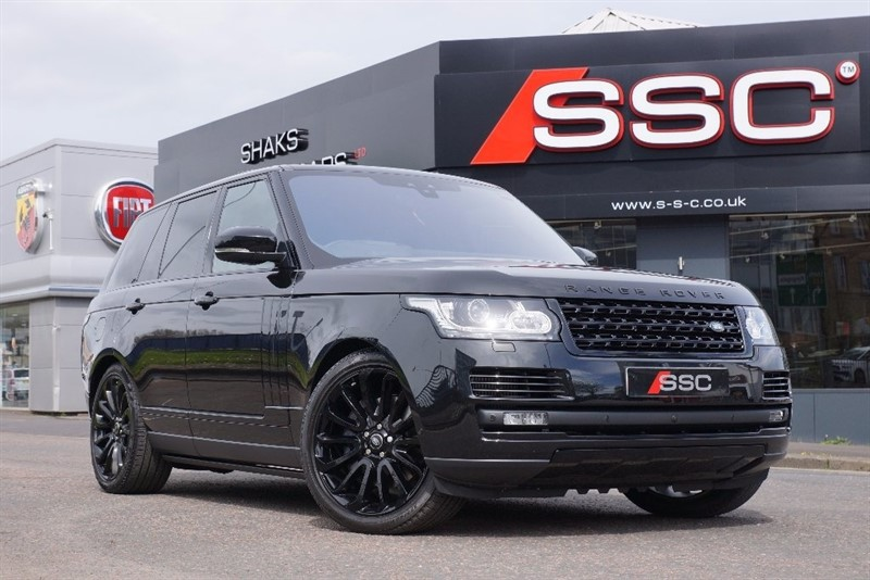 used Land Rover Range Rover SD V8 Autobiography 4X4 5dr (start/stop) in yorkshire