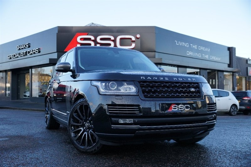 used Land Rover Range Rover SD V8 Autobiography 4X4 5dr in yorkshire