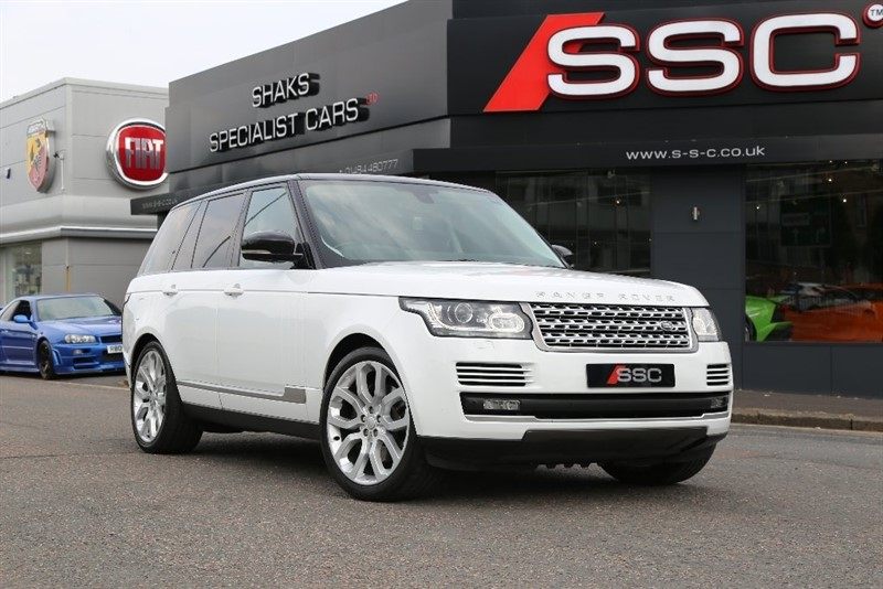 used Land Rover Range Rover SD V8 Vogue 4X4 5dr in yorkshire