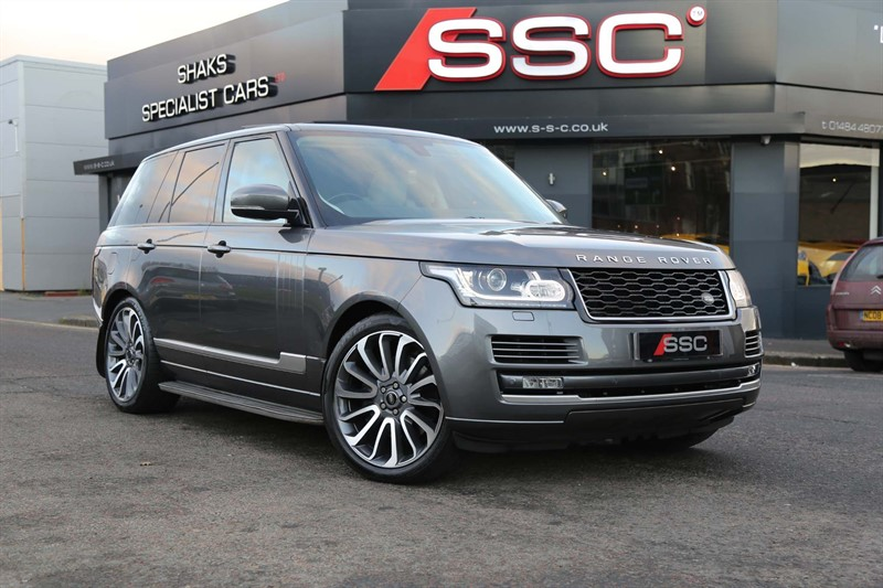 used Land Rover Range Rover SD V8 Vogue Auto 4WD (s/s) 5dr in huddersfield-west-yorkshire