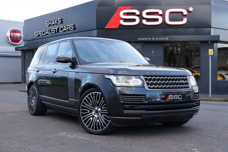 used Land Rover Range Rover SD V8 Vogue SE Auto 4WD in huddersfield-west-yorkshire