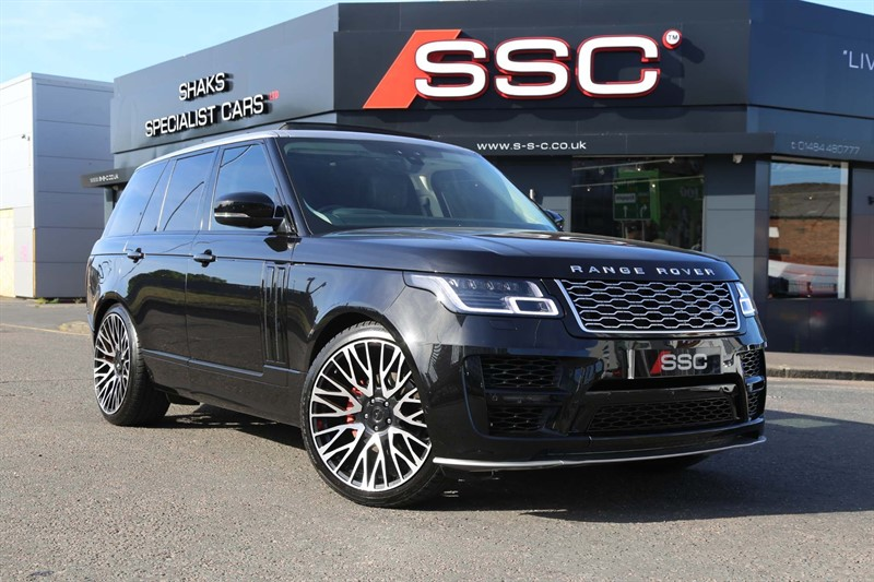 used Land Rover Range Rover SD V6 Vogue Auto 4WD (s/s) in huddersfield-west-yorkshire