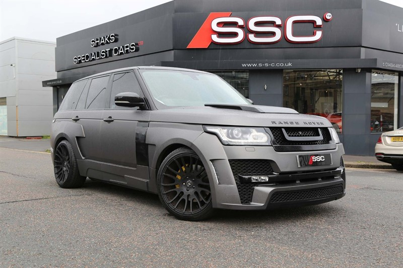 used Land Rover Range Rover SD V8 Vogue Auto 4WD in huddersfield-west-yorkshire