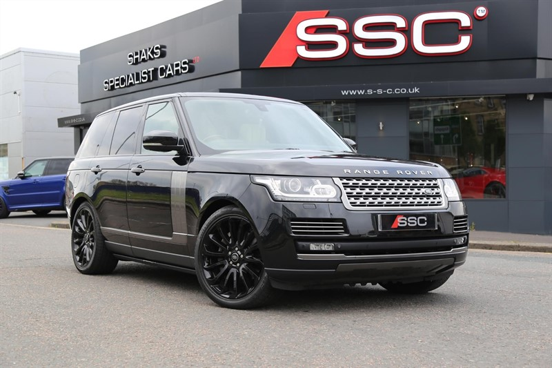 used Land Rover Range Rover SD V8 Autobiography 4X4 (s/s) in huddersfield-west-yorkshire