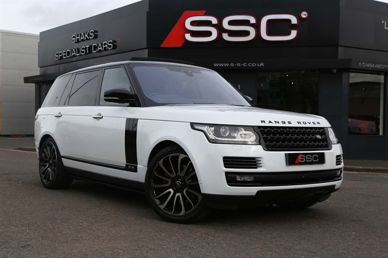 used Land Rover Range Rover V8 Autobiography Auto 4WD (s/s) LWB in huddersfield-west-yorkshire