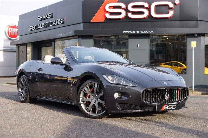 used Maserati Grancabrio Sport 2dr in yorkshire