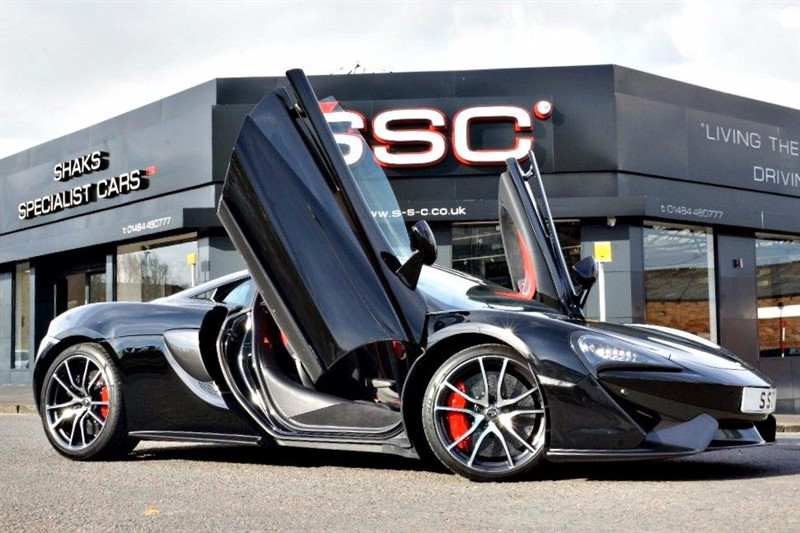 used Mclaren 570s 3.8 V8 SSG 2dr in yorkshire