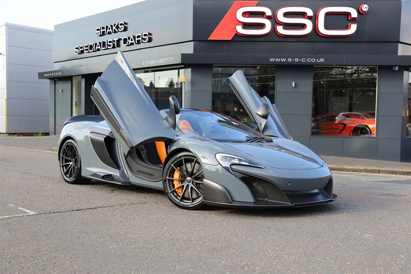 used Mclaren 675LT V8 Spider SSG 2dr in huddersfield-west-yorkshire