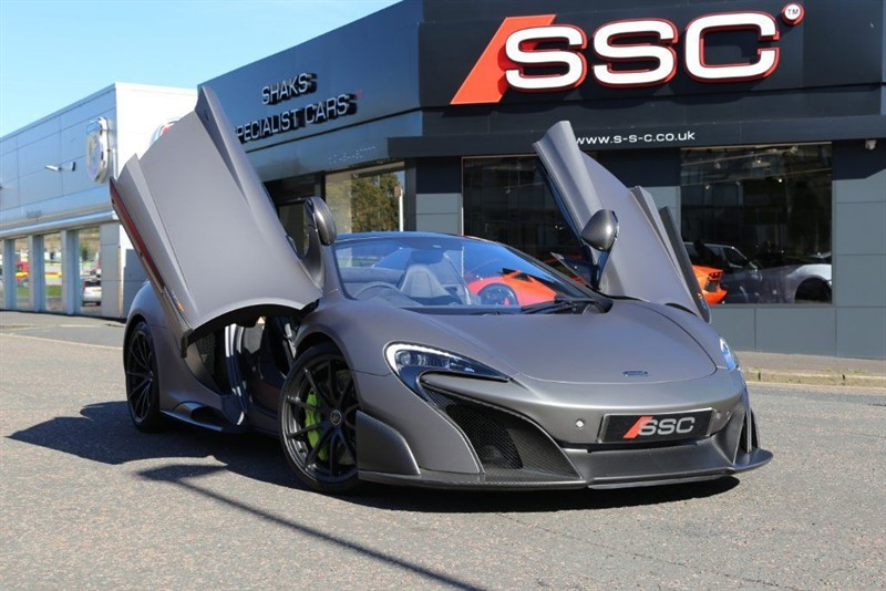 used Mclaren 675LT V8 Spider SSG in huddersfield-west-yorkshire