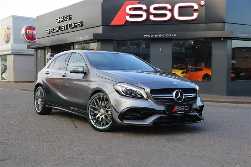 used Mercedes A45 AMG A Class Petronas 2015 WC Edition Speedshift DCT 4MATIC (s/s) 5dr in huddersfield-west-yorkshire