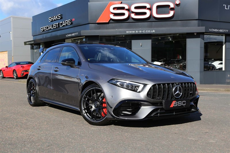 used Mercedes A45 AMG S Plus 8G-DCT 4MATIC+ (s/s) in huddersfield-west-yorkshire