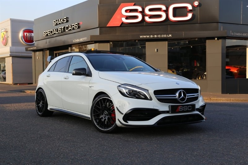 used Mercedes A45 AMG A Class (Premium) Speedshift DCT 4MATIC (s/s) 5dr in huddersfield-west-yorkshire