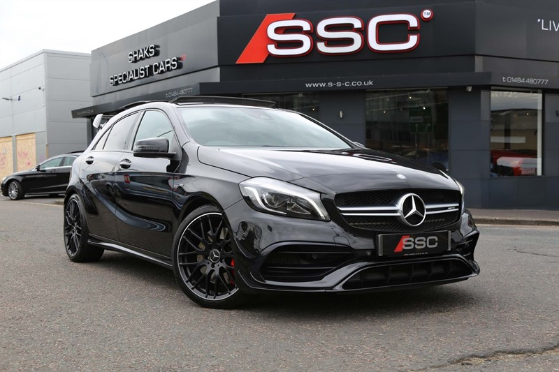 used Mercedes A45 AMG (Premium) SpdS DCT 4MATIC (s/s) in huddersfield-west-yorkshire