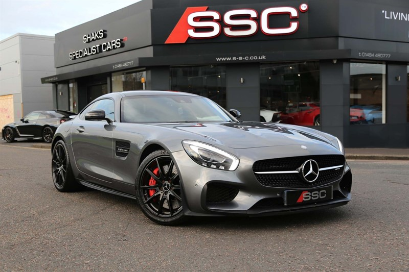 used Mercedes AMG GT V8 BiTurbo S Edition 1 SpdS DCT (s/s) in huddersfield-west-yorkshire