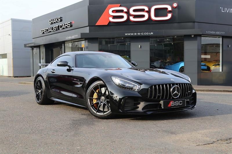 used Mercedes AMG GT V8 BiTurbo R (Premium) SpdS DCT (s/s) in huddersfield-west-yorkshire