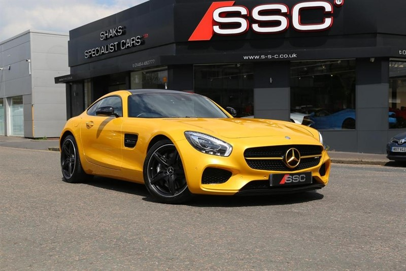 used Mercedes AMG GT (Premium) Speedshift DCT 2dr in huddersfield-west-yorkshire