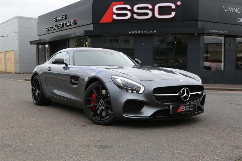 used Mercedes AMG GT V8 BiTurbo S (Premium) SpdS DCT (s/s) in huddersfield-west-yorkshire