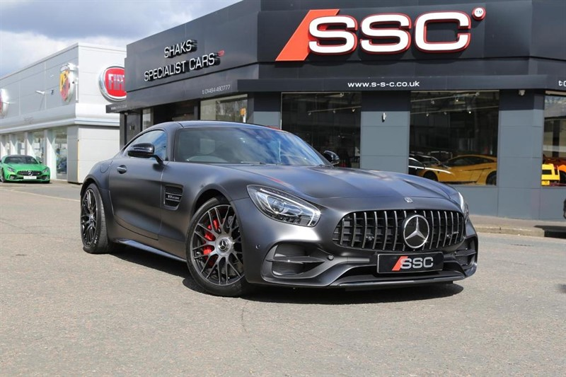 used Mercedes AMG GT C Edition 50 Speedshift DCT (s/s) 2dr in huddersfield-west-yorkshire