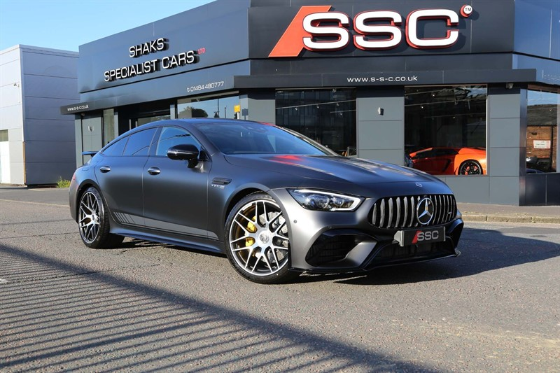 used Mercedes AMG GT 63 V8 BiTurbo S Edition 1 SpdS MCT 4MATIC+ (s/s) in huddersfield-west-yorkshire