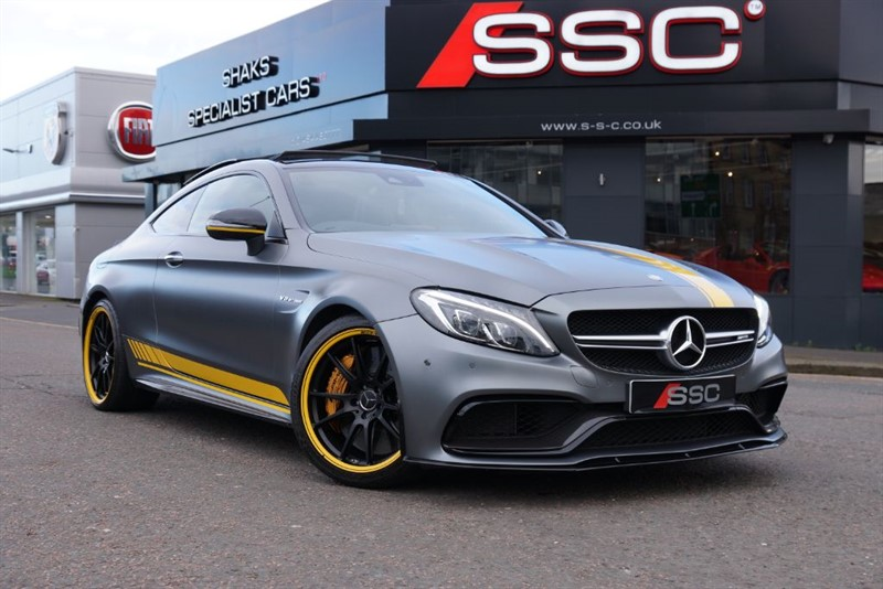 used Mercedes C63 AMG 4.0 S EDITION 1 MOTORSPORT in yorkshire