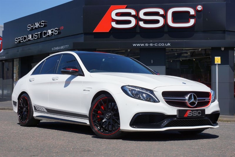 used Mercedes C63 AMG 4.0 S Edition 1 Saloon AMG Speedshift MCT 4dr in yorkshire