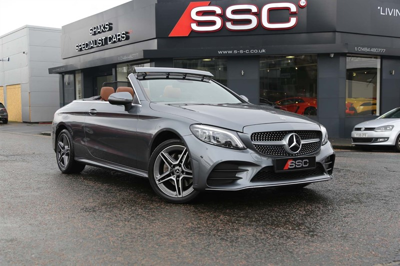 used Mercedes C220 C Class AMG Line Cabriolet G-Tronic+ 4MATIC (s/s) 2dr in huddersfield-west-yorkshire