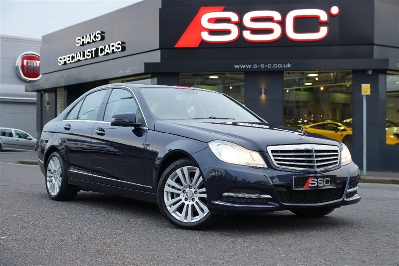 used Mercedes C220 C Class CDI BlueEFFICIENCY SE (Executive) 7G-Tronic Plus 4dr (Map Pilot) in yorkshire