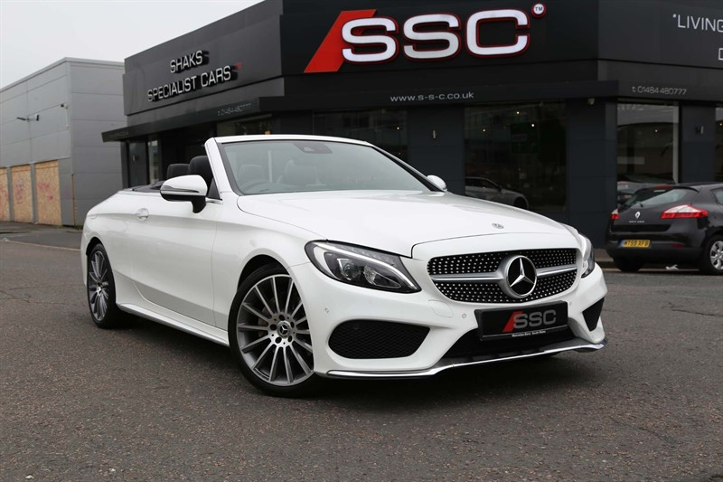 used Mercedes C220 AMG Line (Premium Plus) Cabriolet G-Tronic+ (s/s) in huddersfield-west-yorkshire