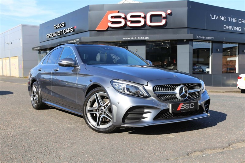 used Mercedes C220 AMG Line (Premium Plus) G-Tronic+ (s/s) in huddersfield-west-yorkshire
