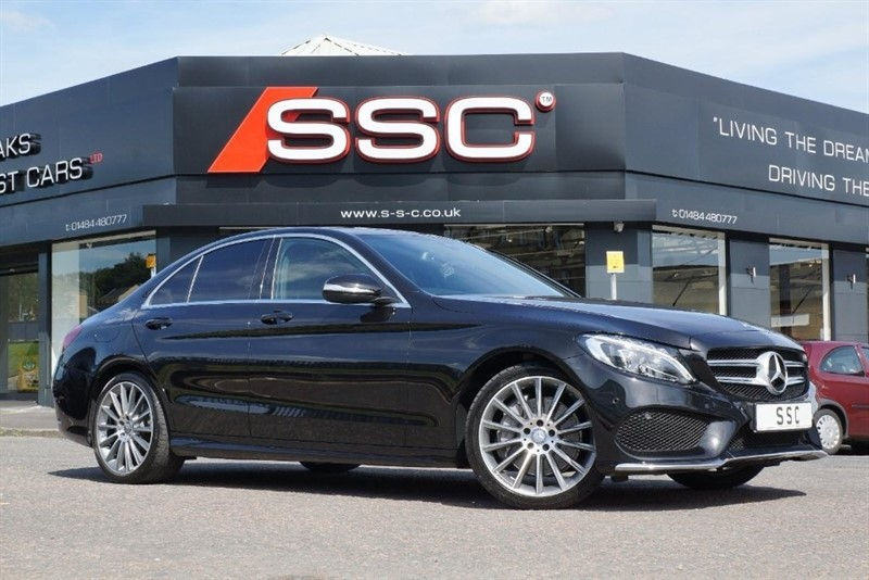 used Mercedes C250 C Class CDI BlueTEC AMG Line 7G-Tronic Plus (s/s) 4dr in yorkshire