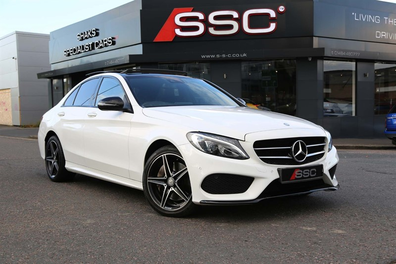 used Mercedes C250 AMG Line (Premium Plus) G-Tronic+ 4MATIC (s/s) in huddersfield-west-yorkshire