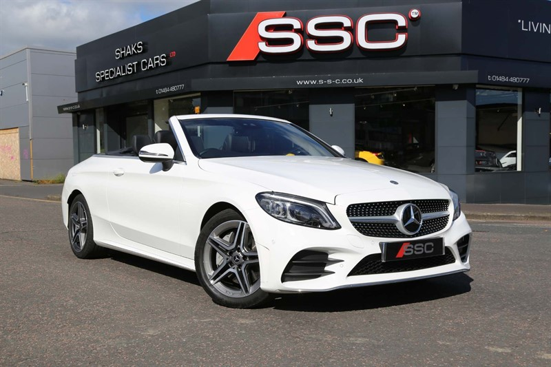 used Mercedes C300 AMG Line (Premium) Cabriolet G-Tronic+ (s/s) in huddersfield-west-yorkshire