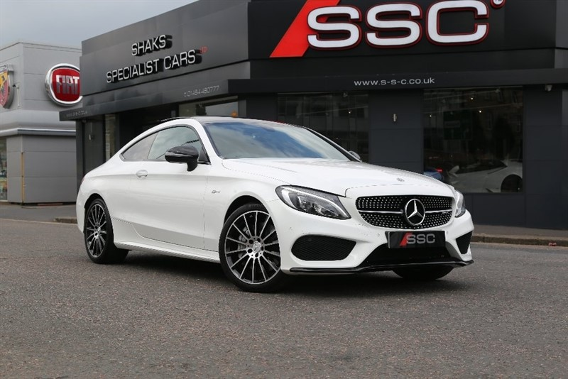 used Mercedes C43 AMG C Class (Premium) 9G-Tronic Plus 4MATIC (s/s) 2dr in yorkshire