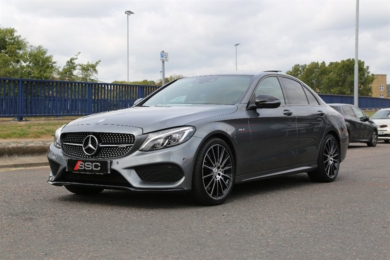 used grey mercedes c43 amg for sale west yorkshire. Black Bedroom Furniture Sets. Home Design Ideas