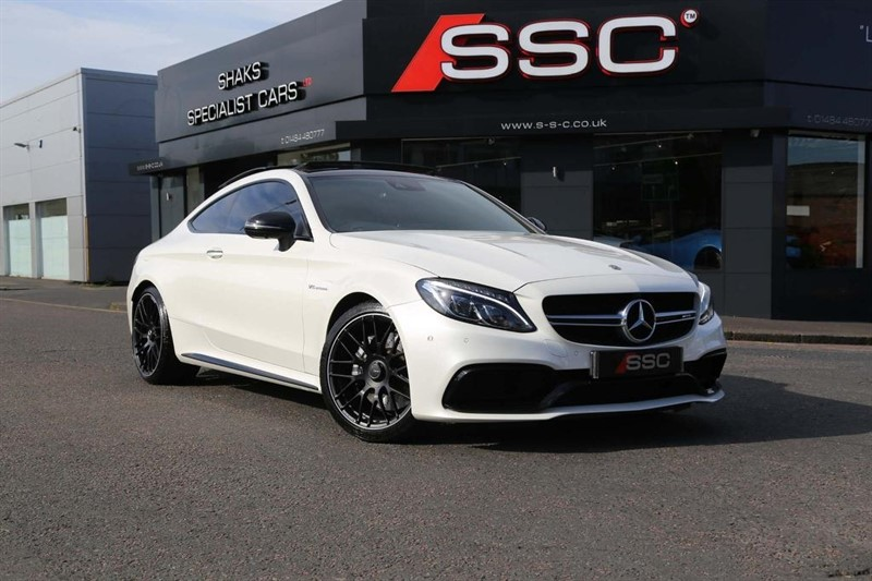 used Mercedes C63 AMG C Class (Premium) Speedshift MCT (s/s) 2dr in huddersfield-west-yorkshire