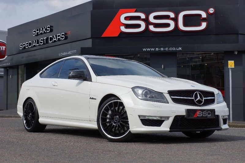 used Mercedes C63 AMG C Class 6.3 MCT 2dr in yorkshire