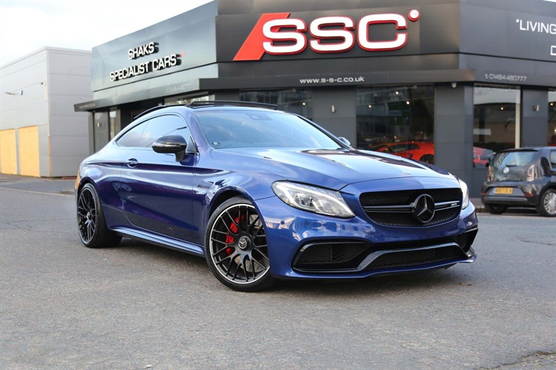 used Mercedes C63 AMG C Class V8 BiTurbo AMG S (Premium) SpdS MCT (s/s) 2dr in huddersfield-west-yorkshire