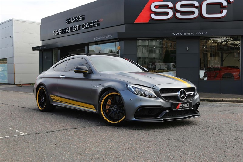 used Mercedes C63 AMG C Class V8 BiTurbo AMG S Edition 1 Motorsport SpdS MCT (s/s) 2dr in huddersfield-west-yorkshire