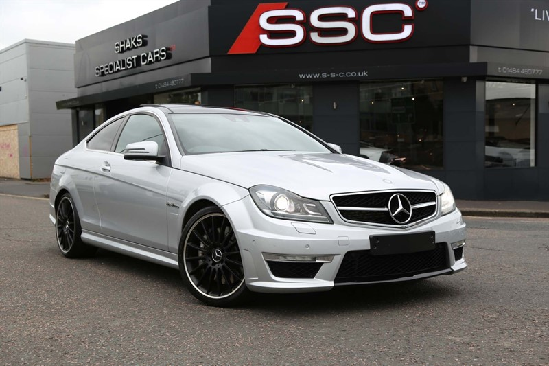 used Mercedes C63 AMG 6.3 MCT in huddersfield-west-yorkshire
