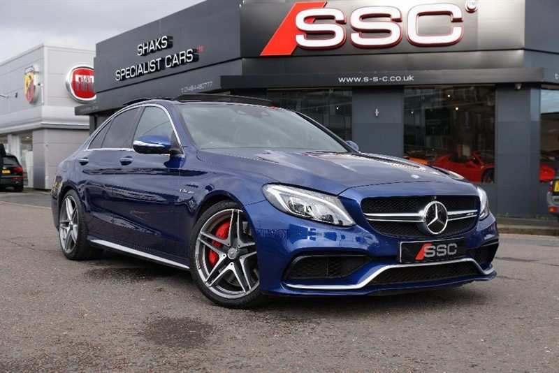 used Mercedes C63 AMG C Class S 4dr (start/stop) in yorkshire
