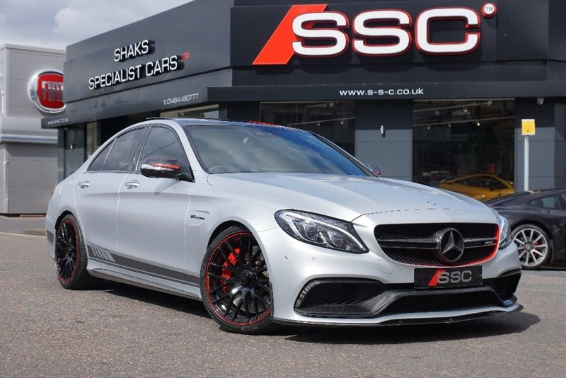 used Mercedes C63 AMG C Class S Edition 1 AMG Speedshift MCT 4dr (start/stop) in yorkshire