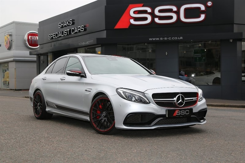 used Mercedes C63 AMG C Class S Edition 1 Speedshift MCT (s/s) 4dr in yorkshire