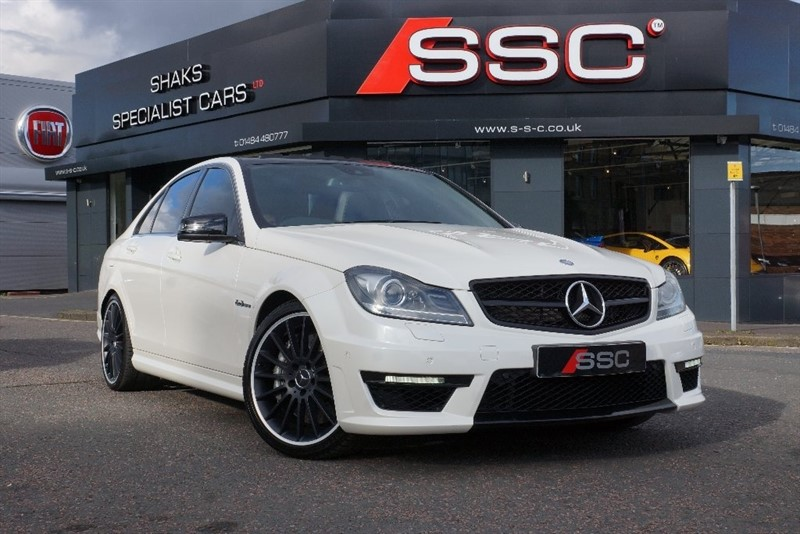 used Mercedes C63 AMG C Class 6.3 MCT 7S 4dr in yorkshire
